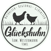 Glückshuhn Fam. Westermann Logo